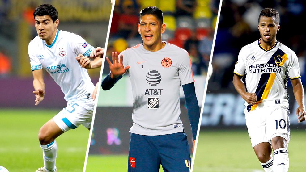 Gutiérrez, Álvarez y Dos Santos protagonizan el fútbol de estufa.