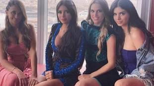 Antonela Rocuzzo, Elena Galera, Nuria Cunillera y Daniella Semaan...