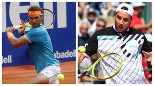 Rafael Nadal y Jan-Lennard Struff en el Godó 2019