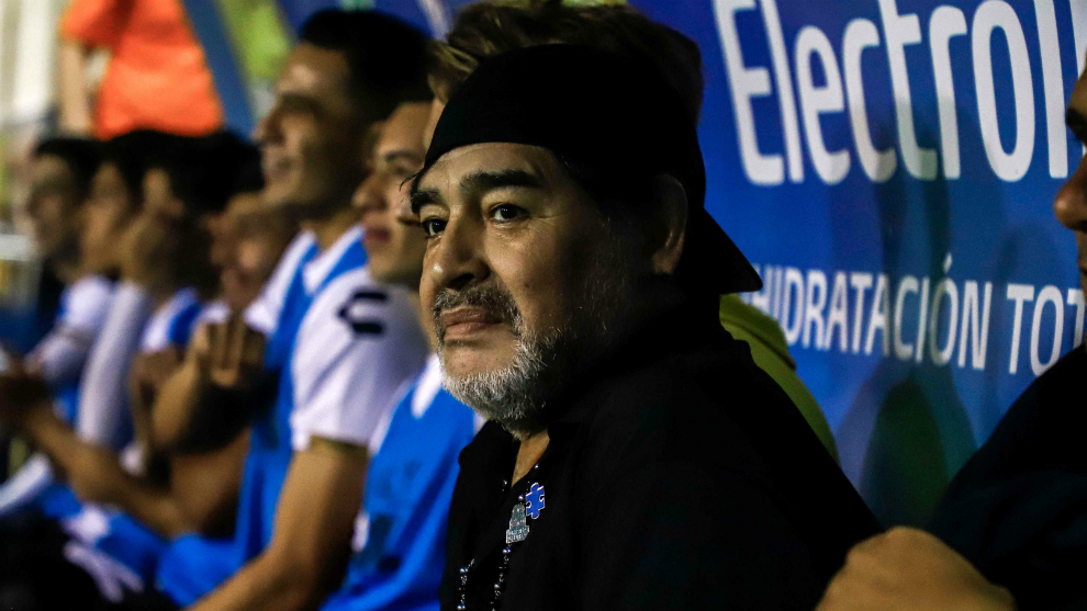 Maradona is working wonders with Dorados.