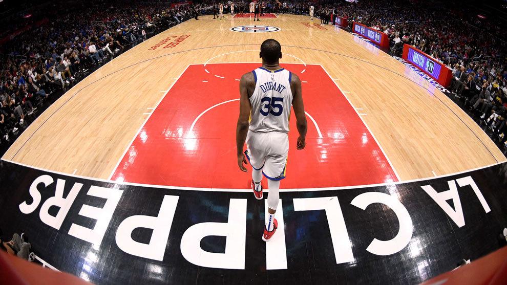 Kevin Durant, el gran héroe de la noche NBA