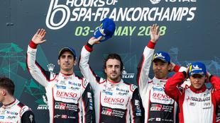 Alonso, Buemi y Nakajima ya ganaron en las 6 Horas de Spa de 2018.