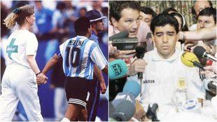Maradona y su momento más oscuro.