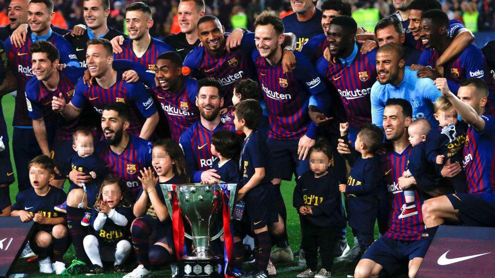 Resultat d'imatges de barça campeon de liga 2019