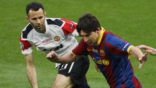 Leo Messi sigue de cera el legado de Ryan Giggs