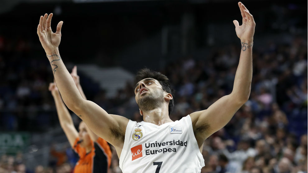 Facundo Campazzo (Real Madrid), el MVP de abril