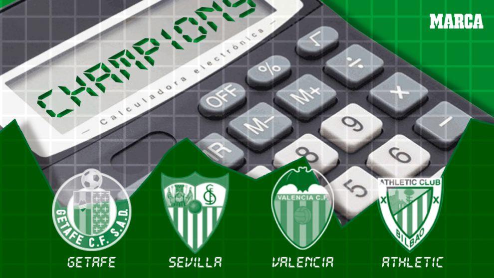 Champion Liga Calendario.Liga Santander 2018 19 El Calendario Y Las Cuentas Por El