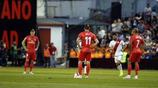 Bale y Mariano, en Vallecas donde formaron pareja de ataque.