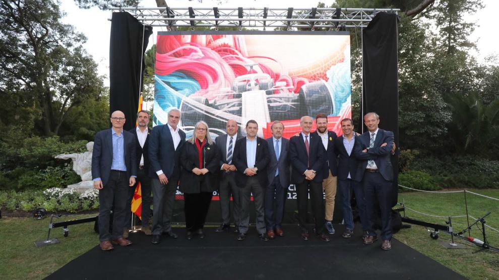 Presentación del GP de España de F1 2019.