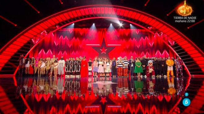 Imagen de la Final de Got Talent 2019 que se llevó la Murga Zeta...