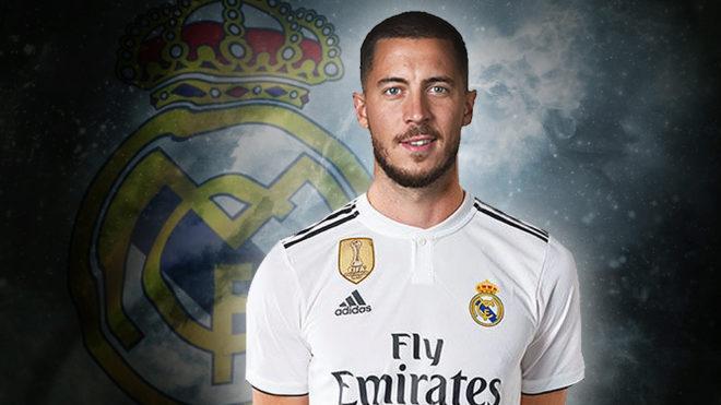 Eden Hazard nuevo jugador del Real Madrid - Fichajes Real Madrid