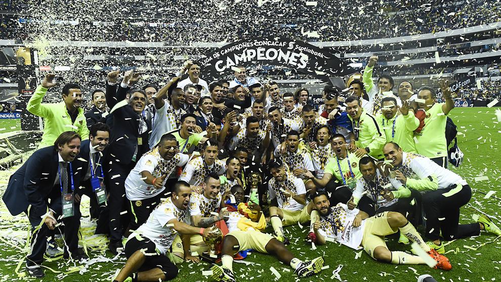 El América es el máximo ganador de la Concachampions.