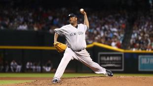CC Sabathia llegó a la cifra histórica con los Yankees.
