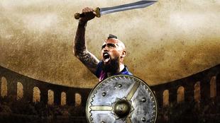 Arturo Vidal como un gladiador