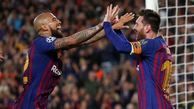 Semi final: Liverpool busca revertir la llave frente al Barcelona de Arturo Vidal