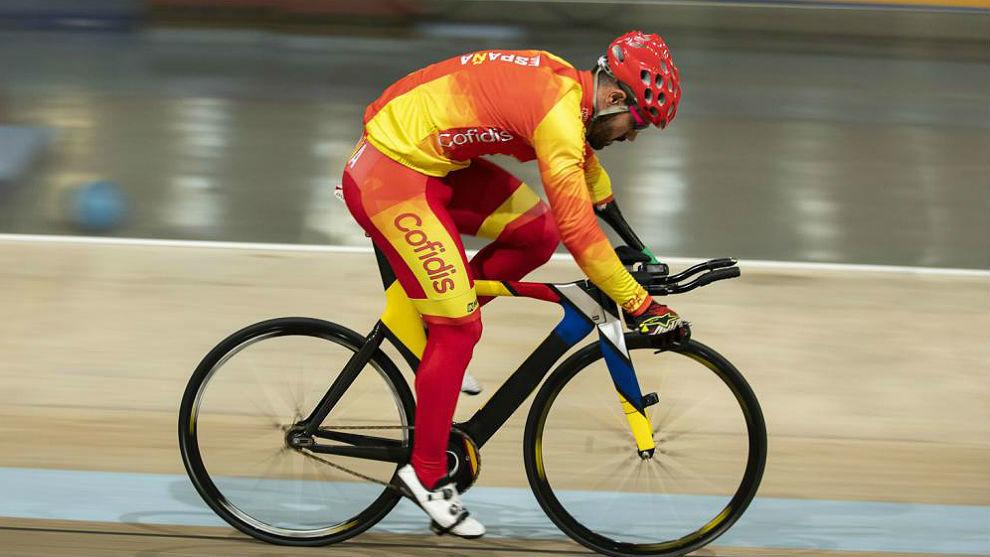Alfonso Cabello, este año en los Mundiales de Apeldoorn.