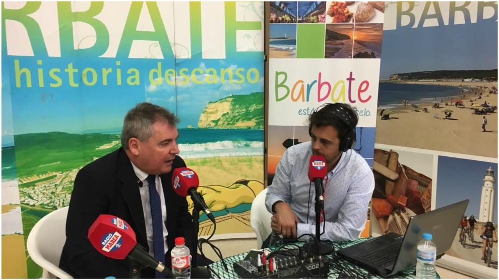 Manuel Vizcaíno, en la entrevista con Radio MARCA