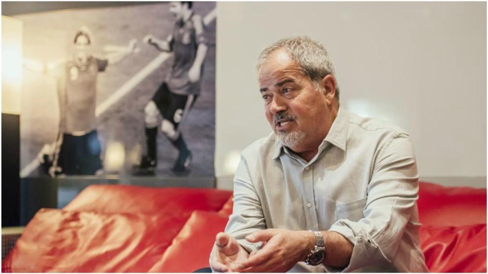 Antonio Iriondo, en una entrevista con MARCA