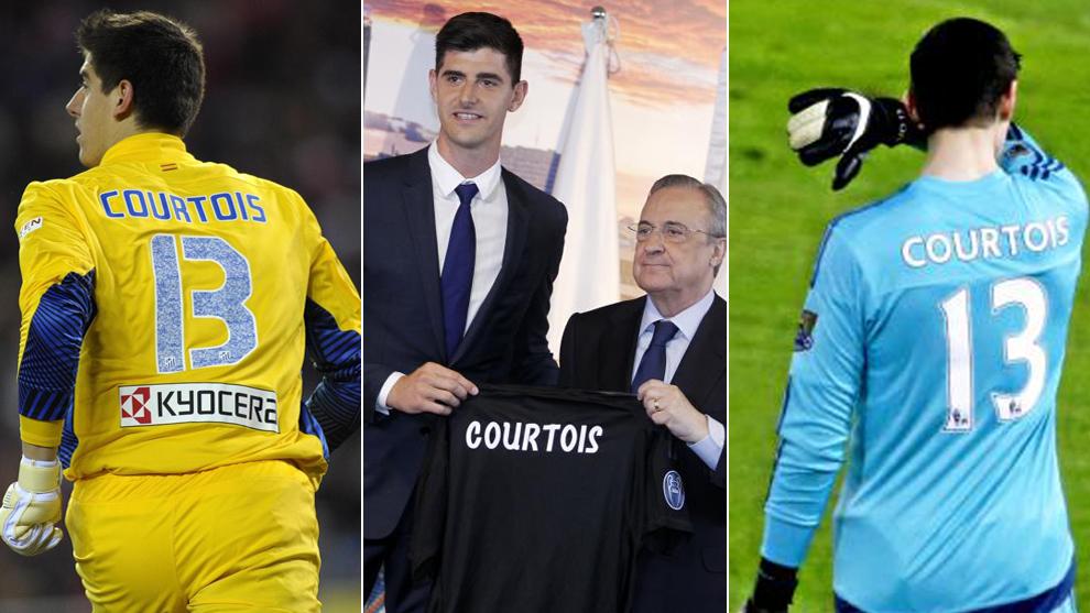 Real Madrid Courtois Ya Piensa En La Próxima Temporada Y Quiere El Número 13 Marca Com