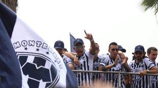 Los Rayados no se olvidaron del rival