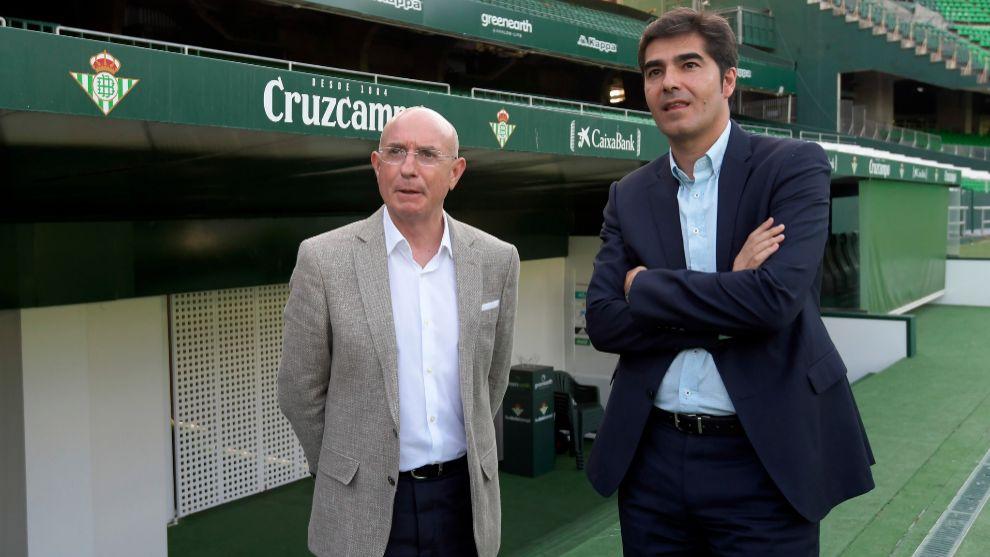 Serra y Haro, en el Villamarín
