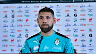 Jonathan Orozco en conferencia de prensa
