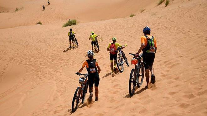 Ciclismo: La Titan Desert, Una Carrera Que Da Vida