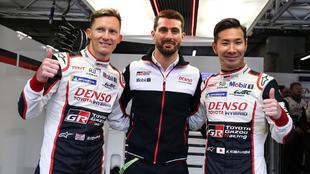 Mike Conway, Kamui Kobayashi y Pechito López 6 Horas de Spa