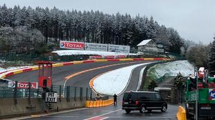 El circuito de Spa, a las 9:00 horas.