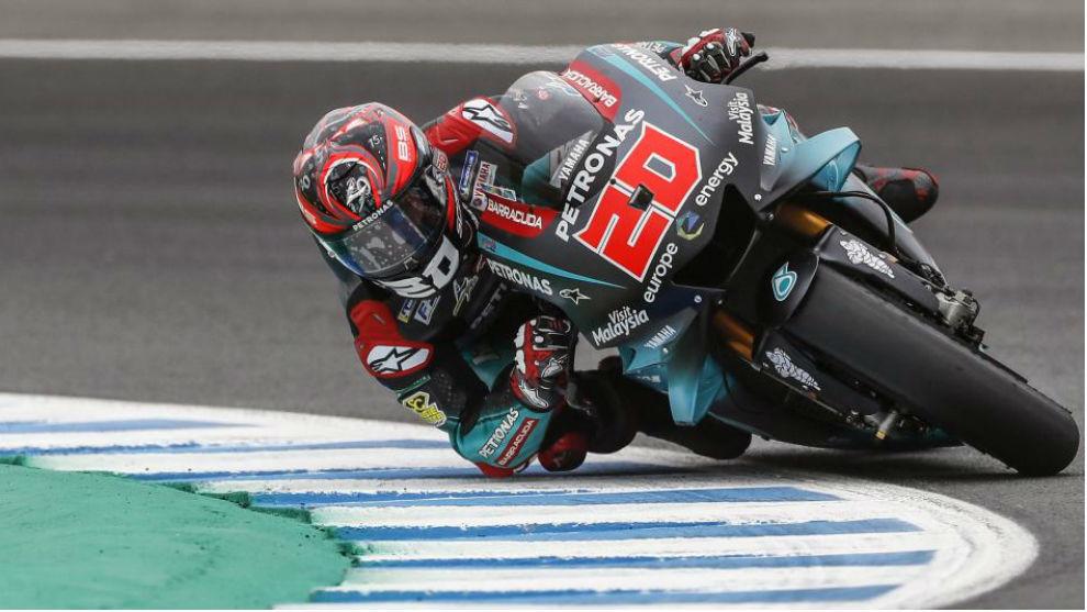 Quartararo, flamante poleman del Gran Premio de España.