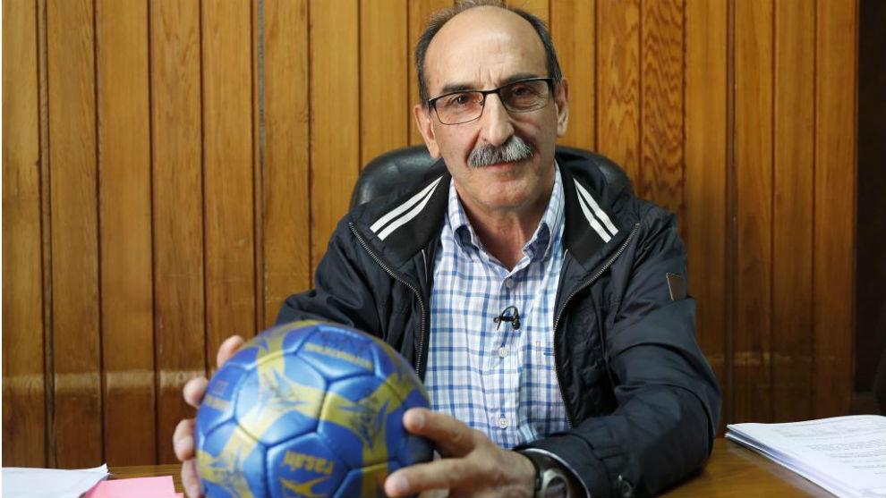 El alcalde de Nava de la Asunción, Juan José Maroto.