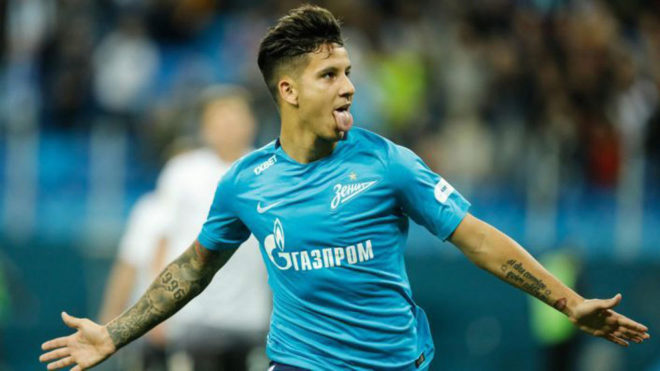 Driussi y la banda argentina del Zenit ganan la Liga de Rusia