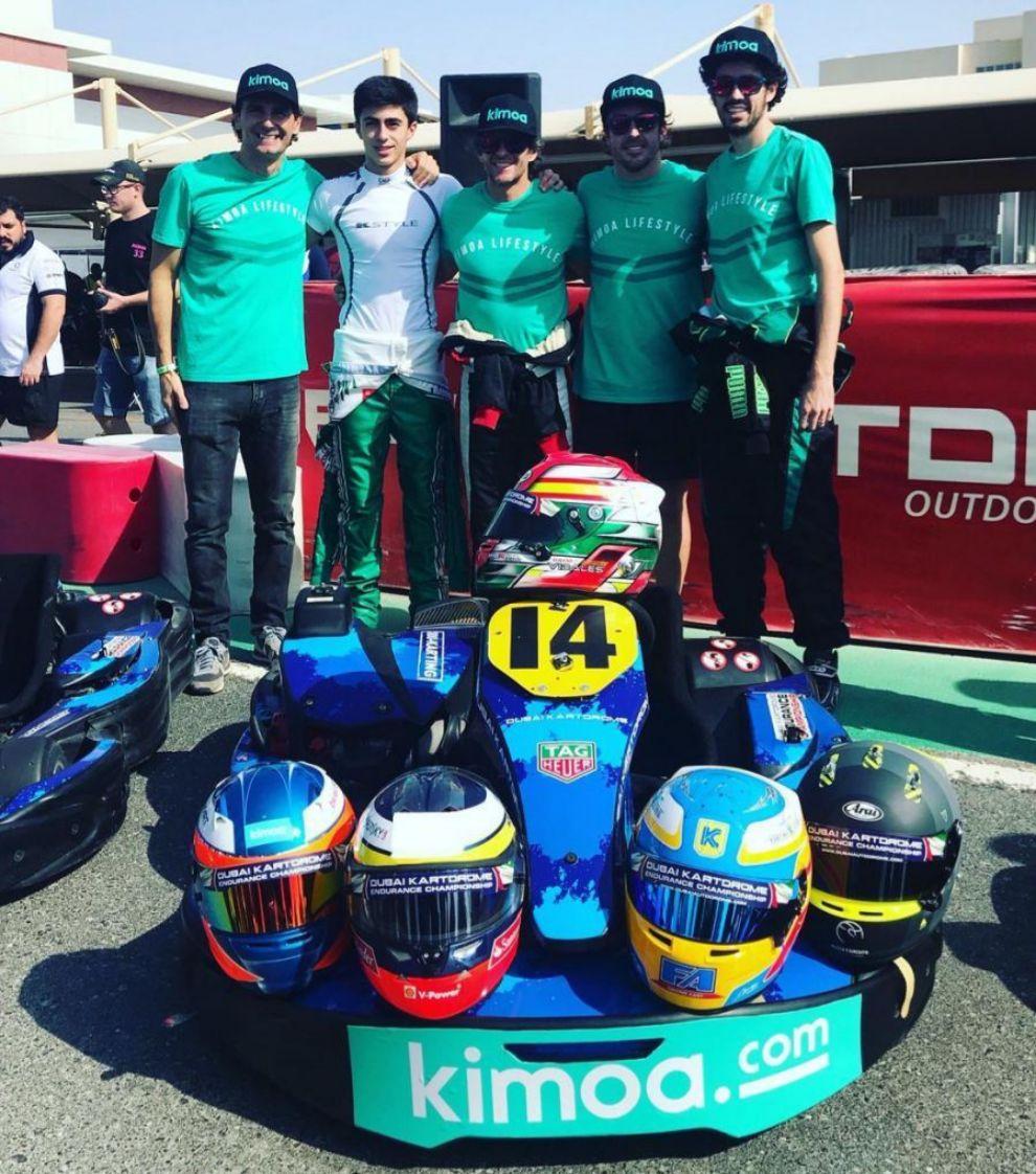 Volverá a compartir equipo con De La Rosa, Burgueño y Alberto