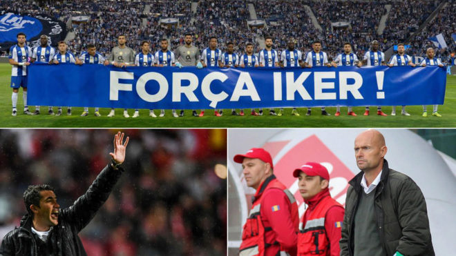 Homage to Casillas from Porto, and Bruno Lage and Marcel Keizer.