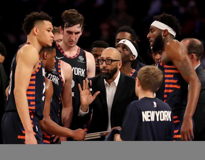Reunión de los jugadores de los New York Knicks esta temporada