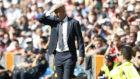 Zidane, durante el encuentro ante el Villarreal.