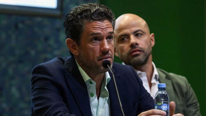 Alejandro Irarragorri deja la presidencia de Santos Laguna