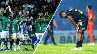 Los grandes contrastes de este torneo: León y Veracruz.