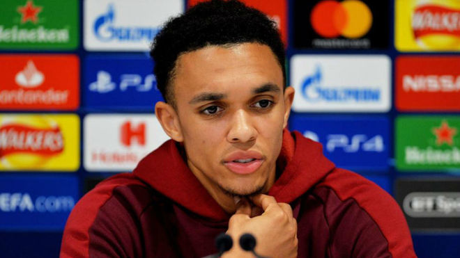Liverpool ace Trent Alexander-Arnold sends message to team-mates before Barcelona tie