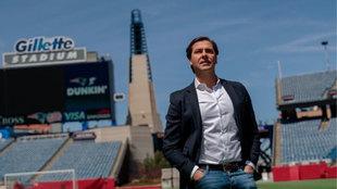 Rubén Martín, director deportivo del Hueca.