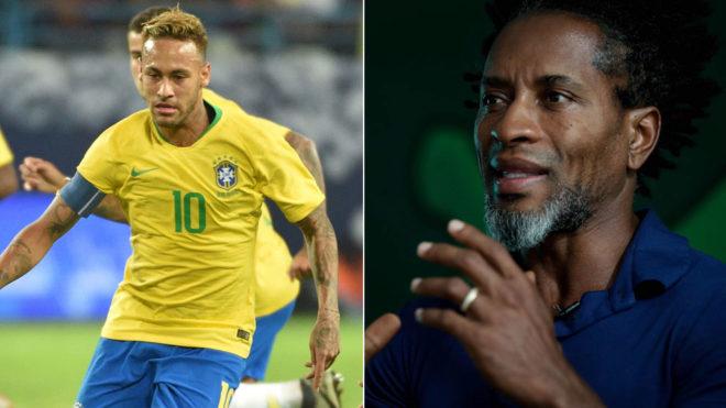Neymar and Ze Roberto.