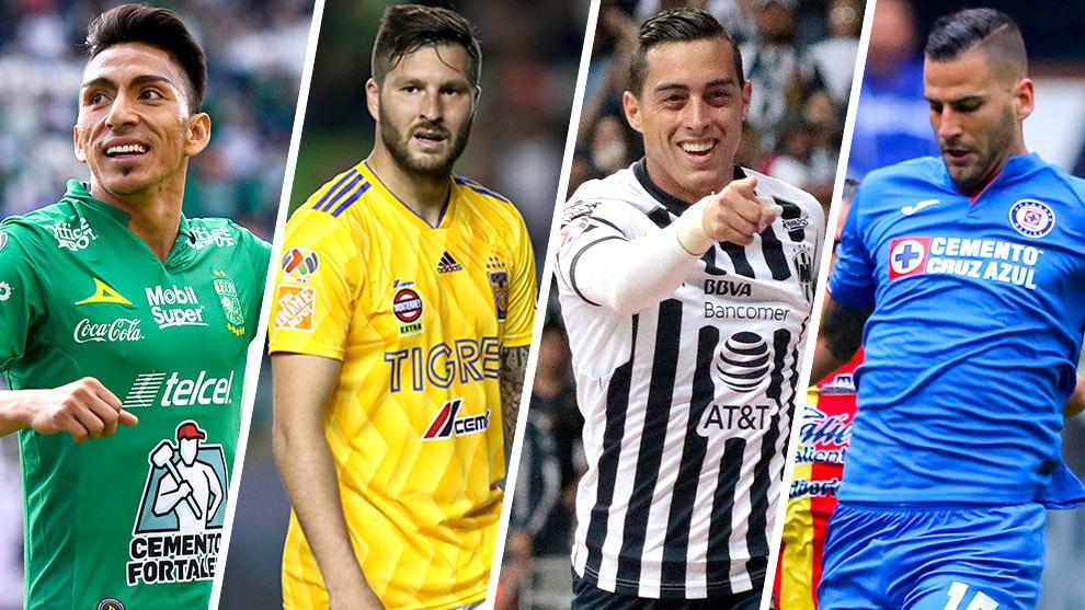 León, Tigres, Monterrey y Cruz Azul fueron los mejores cuatro del...