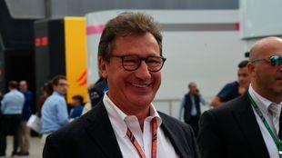 Louis Camilleri, consejero delegado de Ferrari.