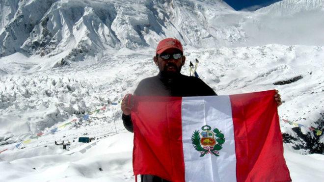 Richard Hidalgo, en una de sus expediciones.