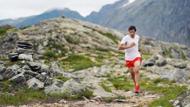 Kilian Jornet, en un entrenamiento.