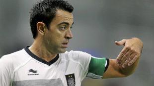 Xavi (39), con el Al Sadd.
