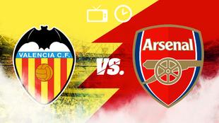 Valencia vs Arsenal, hora y dónde ver
