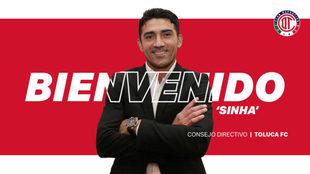 Sinha regresa al Toluca.