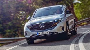El Mercedes-Benz EQC es el primer eléctrico de la marca alemana.