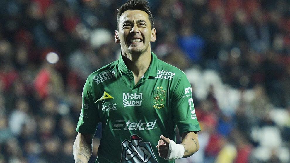 Marcó su primer gol en liga con el León